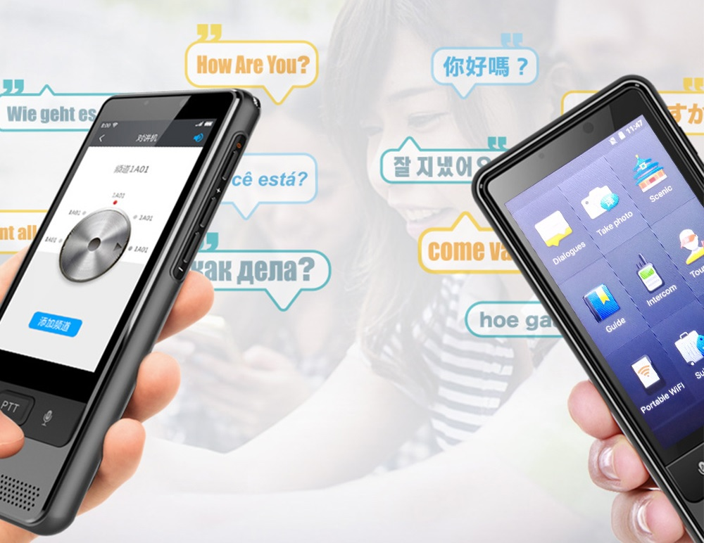 multifunkcny hlasovy prekladac do vrecka Dosmono S501