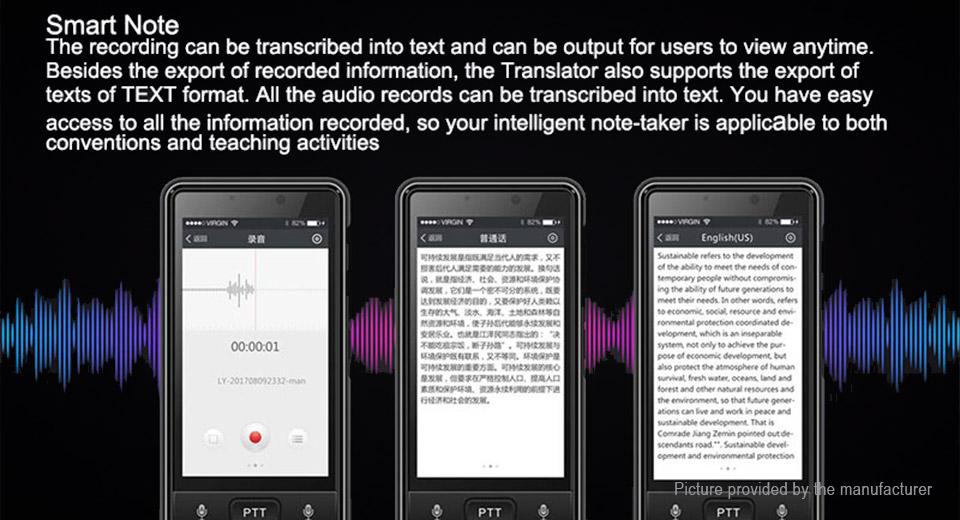 prekladač Dosmono S501 funkcia Smart Note