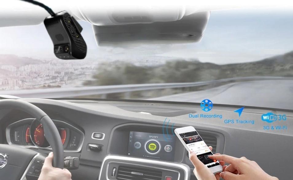 Profio x2 s 3G vysokorychlostním přenosem dat kamera do auta