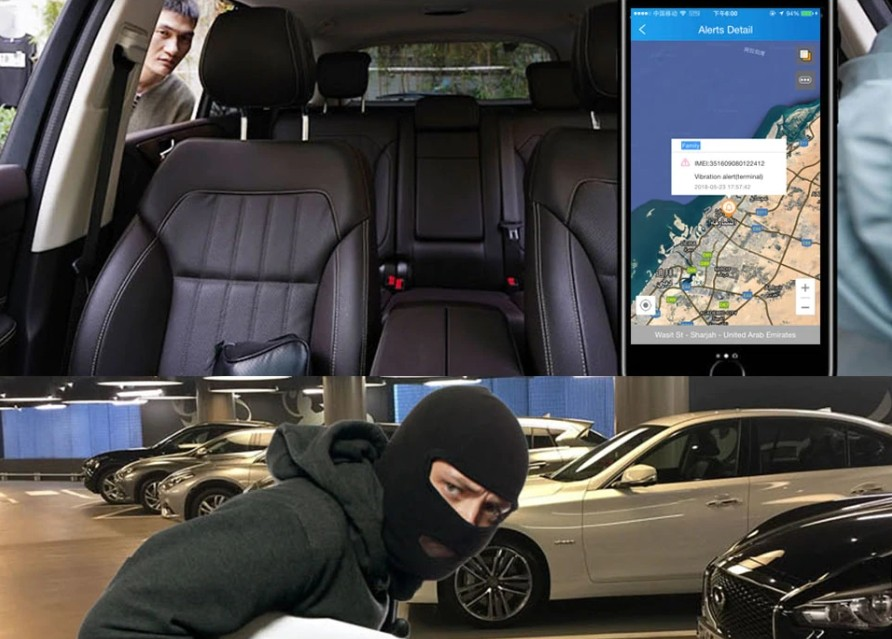 profio x2 kamera do auta vibrační alarm