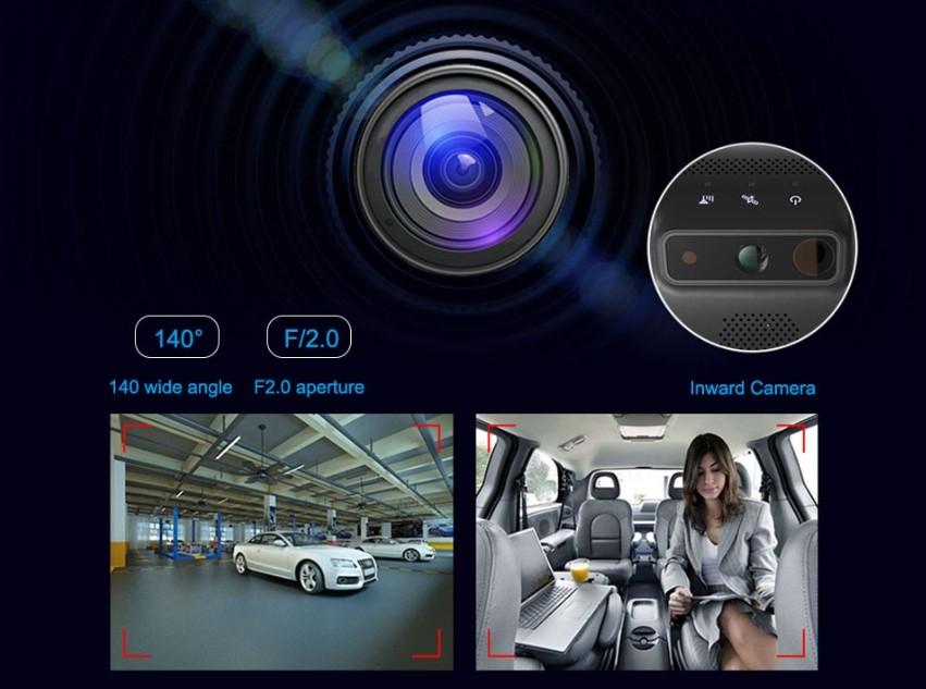 profio x2 kamera do auta 6 vrstvé sklenene čočky
