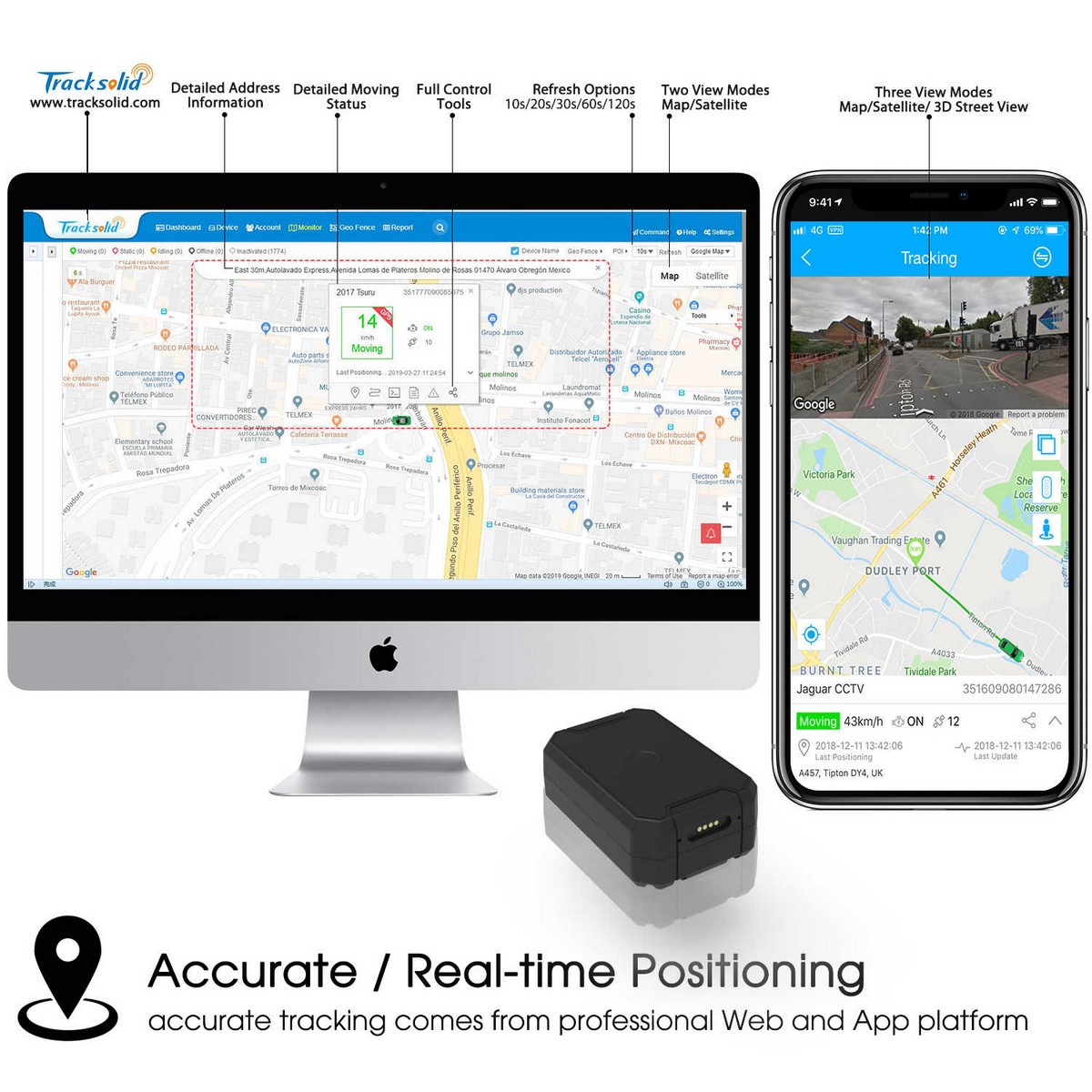 gps locator tracking via app in mobile phone