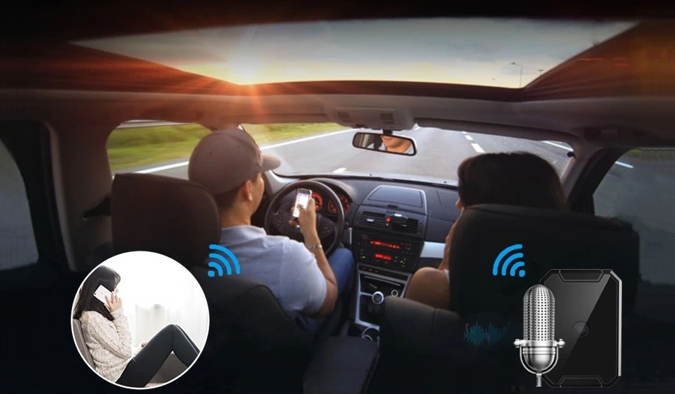 locator into car gps active listening
