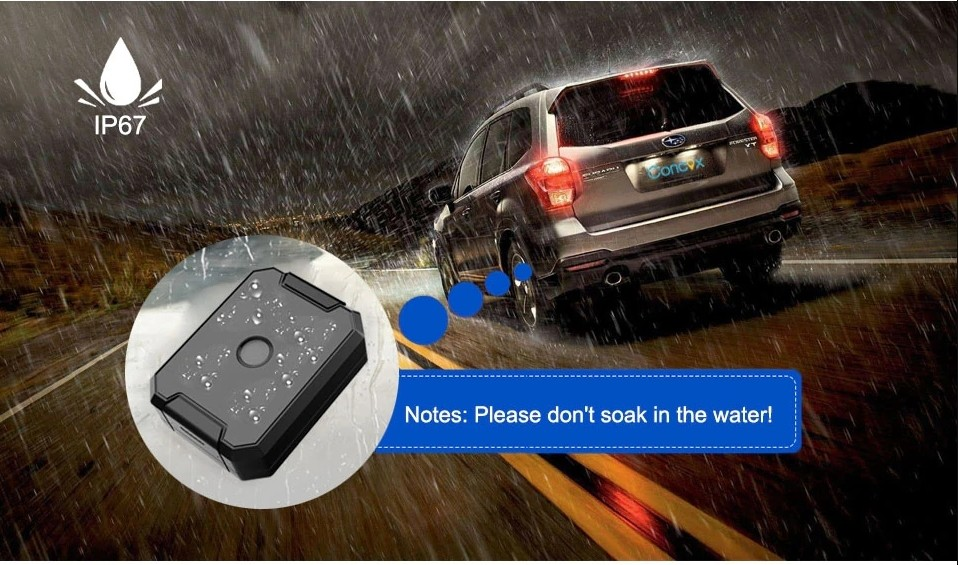 gps locator waterproof IP67 protection