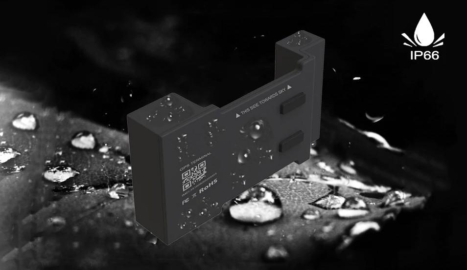 IP66 stupen ochrany vodotesny lokator gps
