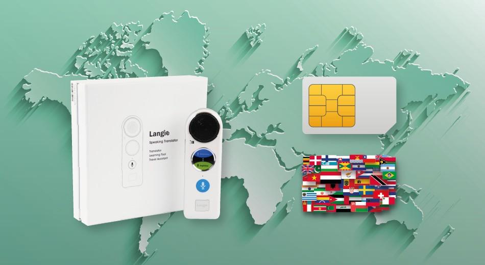 podpora LANGIE Global SIM karty az v 160 krajinach sveta