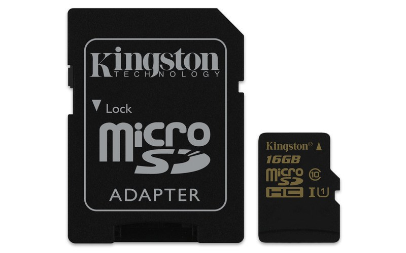 kingston paměťová karta micro SD 16 GB
