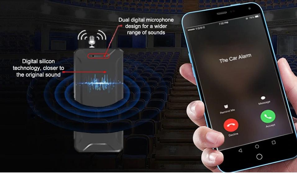gps tracker monitorovanie hlasu