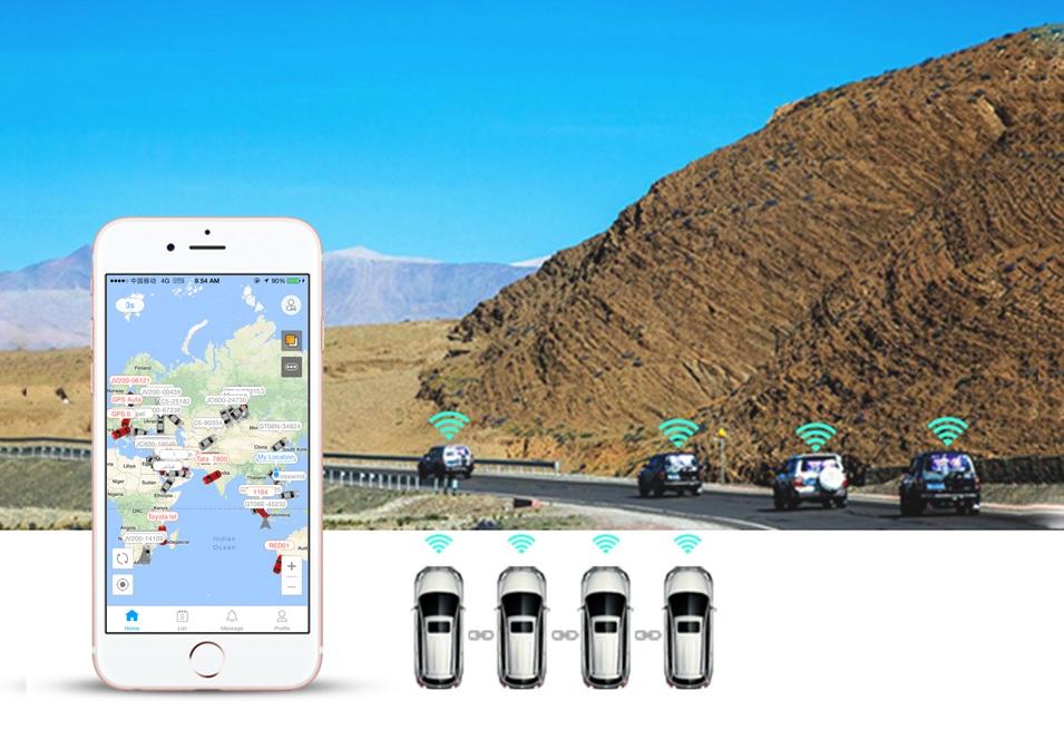 gps obd locator vehicle fleet management