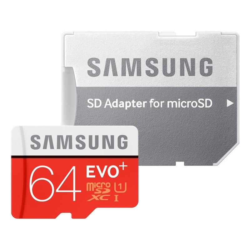 64GB pamäťová karta Samsung micro SDXC EVO Plus