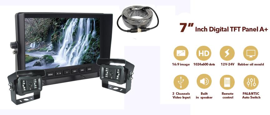 """7"""" AHD monitor"""