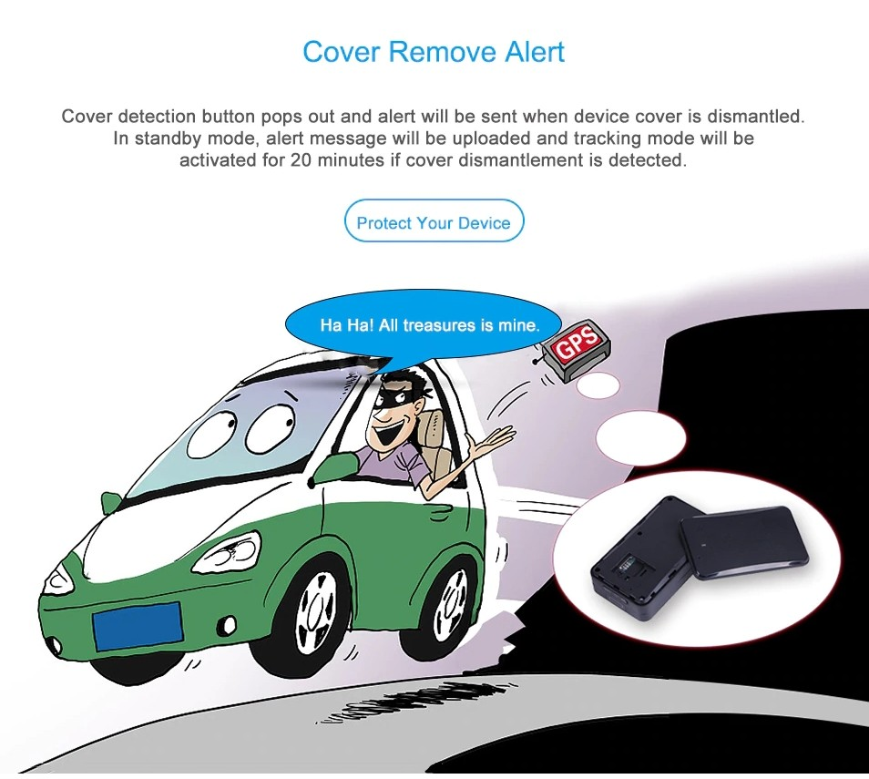 cover remove alert gps tracker