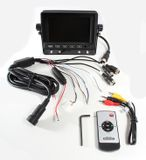 """LCD monitor 5"""" pre cúvacie kamery s nastaviteľnou konzolou a slnečnou clonou"""