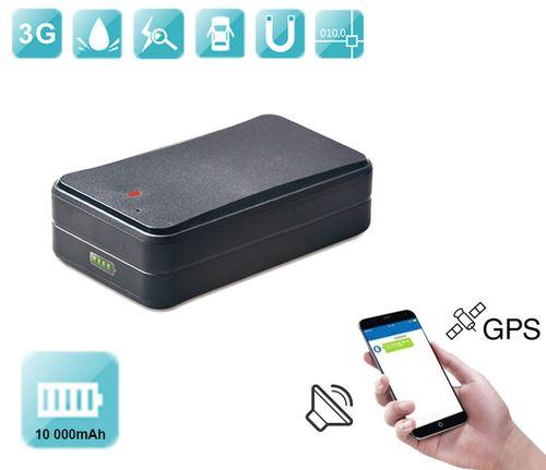 GPS lokalizátor 3G s veľkokapacitnou batériou 10000 mAh + odpočúvanie