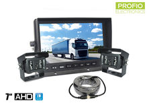 AHD parkovací set LCD monitor 7