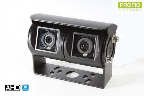 Duálna parkovacia AHD kamera s vertikálnym uhlom pohľadu 180°