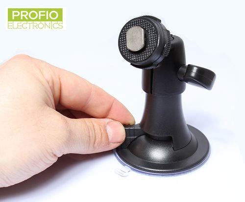 Nastaviteľný prísavkový držiak monitora s 3D guľovým kĺbom