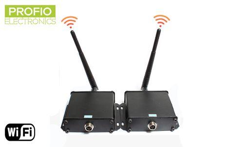 4 pin konektor WiFi transmitter a receiver pre cúvacie sety