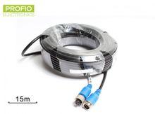 15 m predlžovací kábel 4 pin pre cúvacie sety