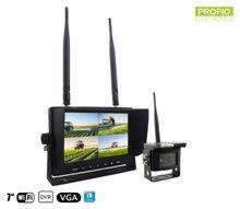 """Cúvacia kamera s monitorom -1x kamera + 7"""" LCD Monitor s nahrávaním na SD kartu(Audio + Video)"""