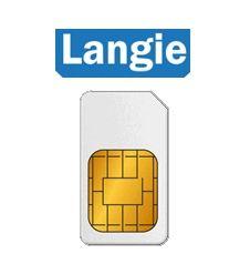 Dátová/telefónna LANGIE Global SIM 3G karta