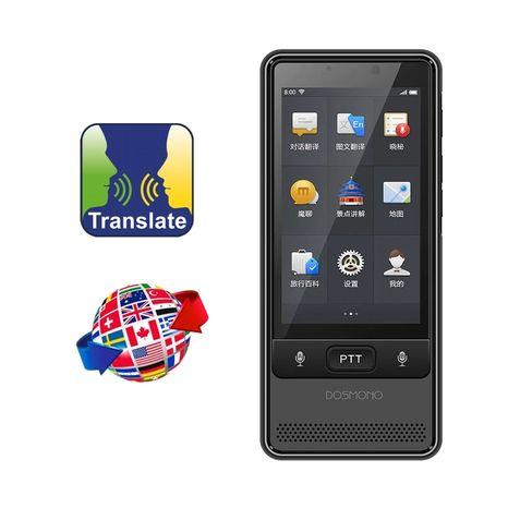 DOSMONO S501 - Vreckový hlasový a foto prekladač + 4G SIM
