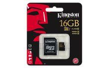 Micro SD 16 GB pamäťová karta Kingston class 10