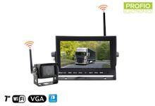 """Parkovací set do auta s 7"""" LED monitorom + 1x WiFi kamera"""
