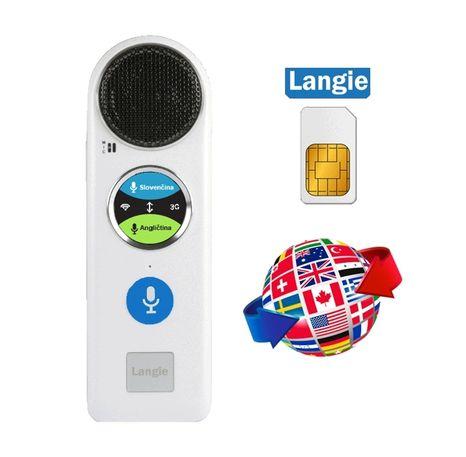 Unikátny elektronický hlasový prekladač a tlmočník Comet LANGIE S2 (Preklad 53 jazykov)